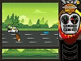 Jouer à Odyssee - frog motorbike game