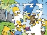 Jouer à The simpsons puzzle
