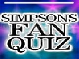Jouer à Simpsons fan quiz