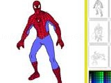 Jouer à Spider man online coloring game