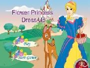 Jouer à Flower princess dress up