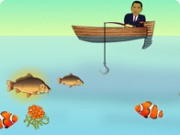 Jouer à Obama fishing