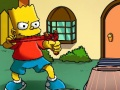Jouer à The simpsons slingshot game