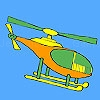 Jouer à Short distance helicopter coloring