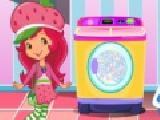 Jouer à Strawberry shortcake washing clothes