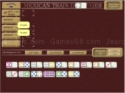 Jouer à Mex train dominoes