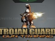 Jouer à Trojan guard gun training