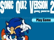 Jouer à Sonic quiz version 2