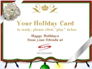 Jouer à Your holiday card