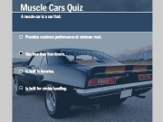 Jouer à Muscle cars quiz