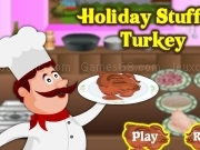 Jouer à How to make an holiday stuffed turkey