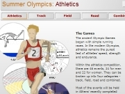 Jouer à Summer olympics athletics facts