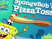 Jouer à Spongebob - pizza toss